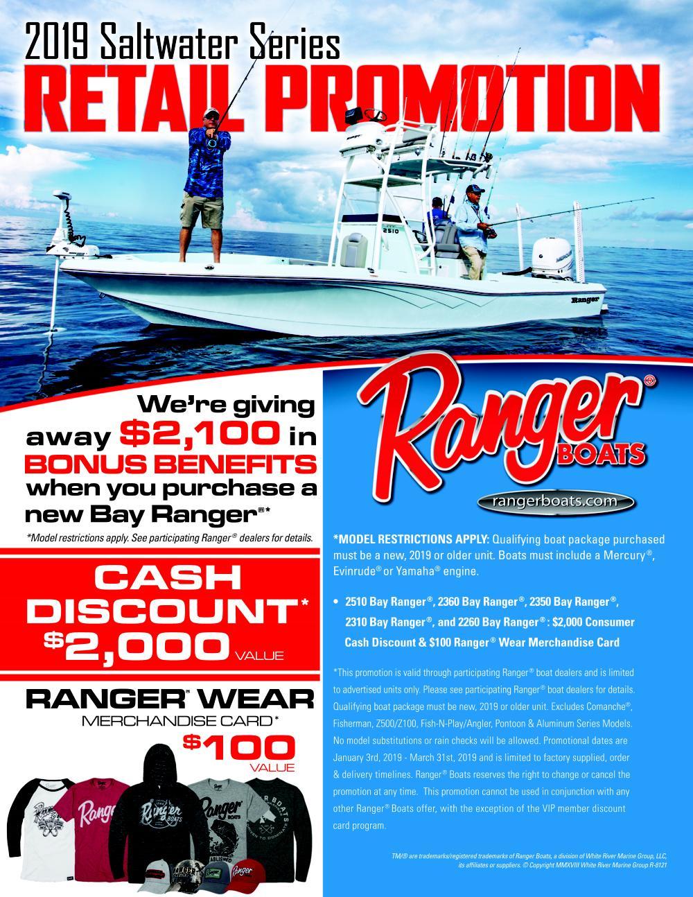 Ranger 2019 Saltwater Series Promotion