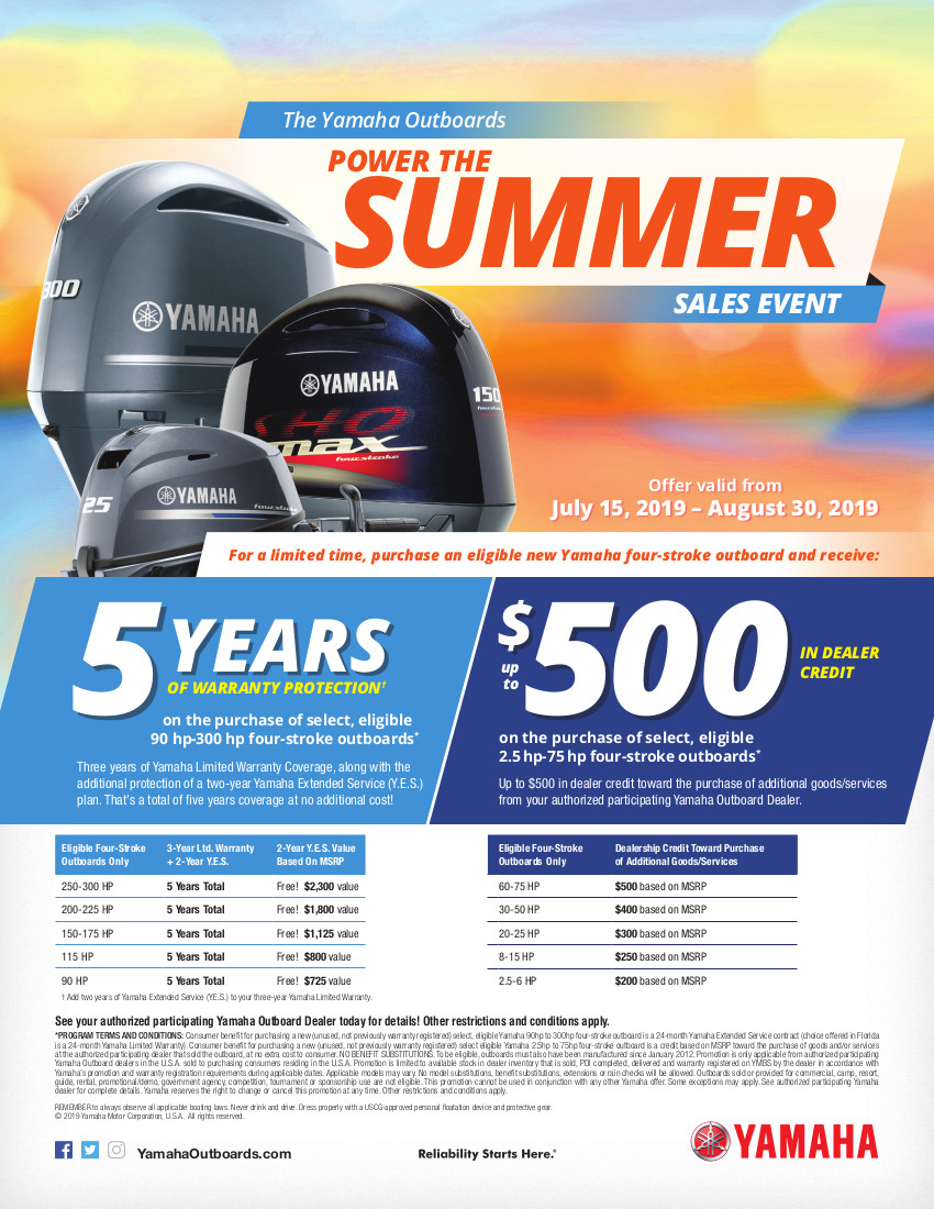 Power the Summer Sales Event Ad